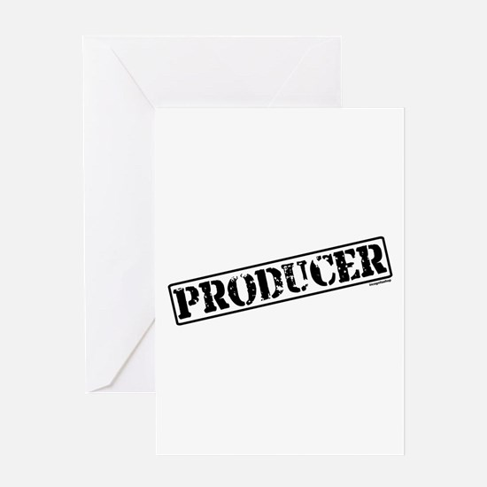 Producer Stamp Greeting Card