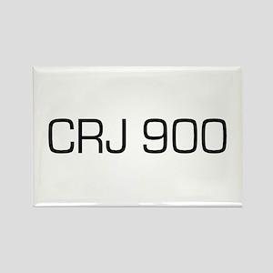 CRJ 900 Rectangle Magnet