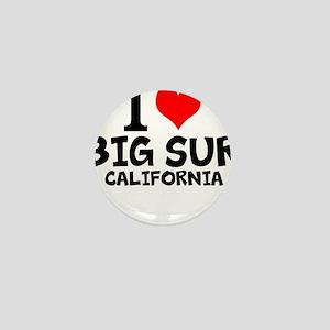 I Love Big Sur, California Mini Button