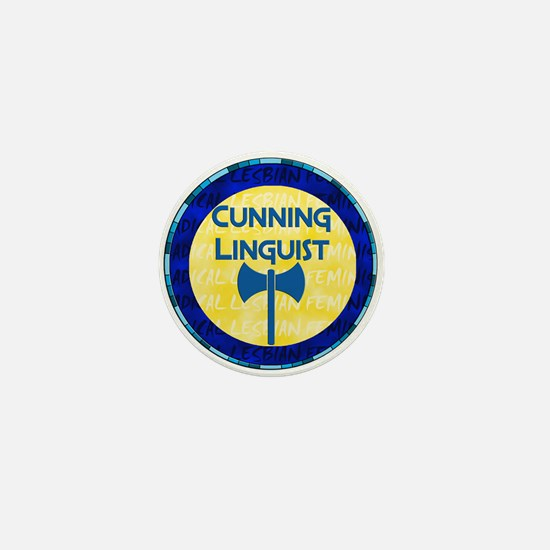 Cunning Linguist Mini Button