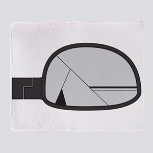 Smashed Chunky Car Side Mirror Throw Blanket