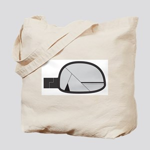 Smashed Chunky Car Side Mirror Tote Bag