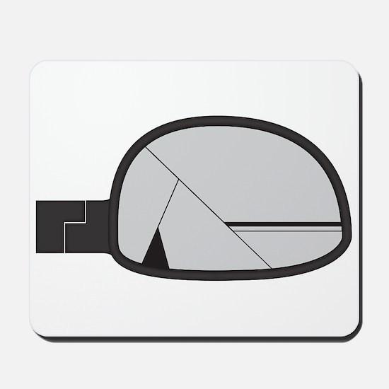 Smashed Chunky Car Side Mirror Mousepad