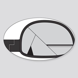 Smashed Chunky Car Side Mirror Sticker