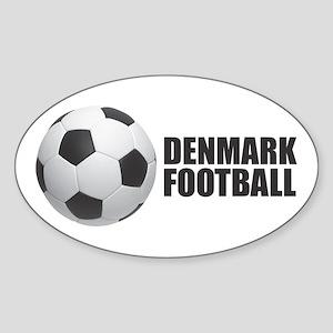 Denmark Football Sticker