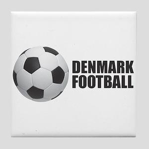 Denmark Football Tile Coaster
