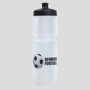 Denmark Football Sports Bottle