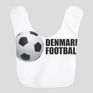 Denmark Football Polyester Baby Bib