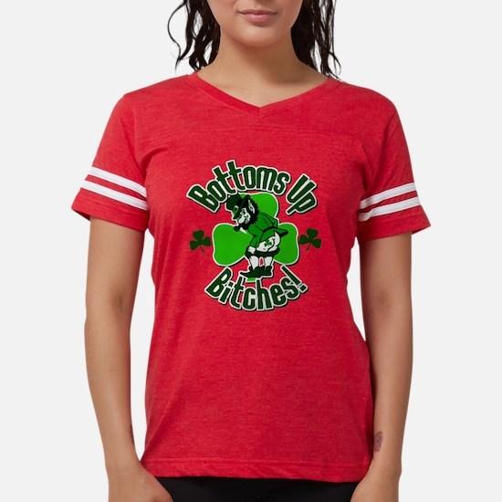 Bottoms Up Bitches Leprechaun T-Shirt