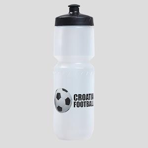 Croatia Football Sports Bottle