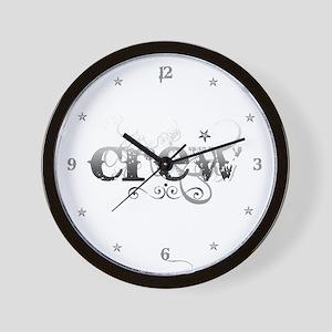 Urban Crew Wall Clock