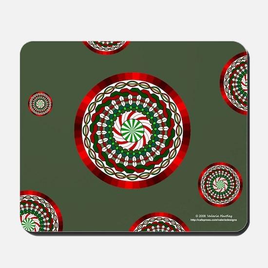 Colors of Christmas Mousepad