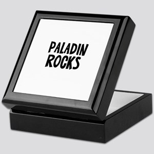 Paladin  Rocks Keepsake Box