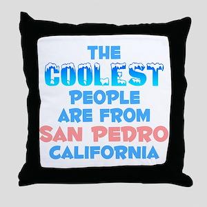 Coolest: San Pedro, CA Throw Pillow