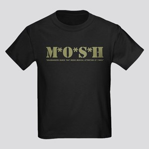 M*O*S*H - Headbangers Dance T Kids Dark T-Shirt