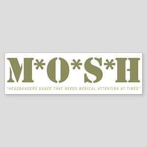 M*O*S*H - Headbangers Dance T Bumper Sticker