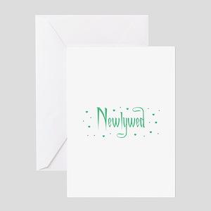 Newlywed - Charmed Green Greeting Card