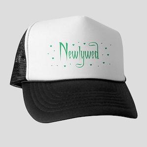 Newlywed - Charmed Green Trucker Hat