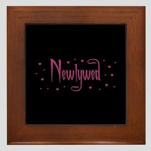 Newlywed - Charmed Pink Framed Tile