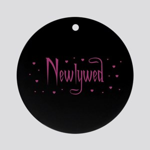 Newlywed - Charmed Pink Ornament (Round)