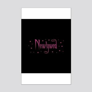 Newlywed - Charmed Pink Mini Poster Print