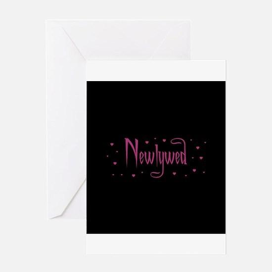 Newlywed - Charmed Pink Greeting Card