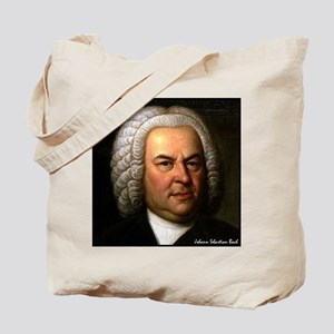 "Faces ""Bach"" Tote Bag"