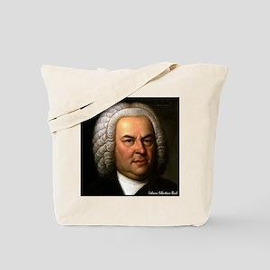 "Faces ""Bach"" Tote Bag"