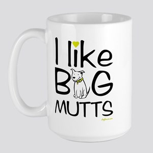 Big Mutts Large Mug