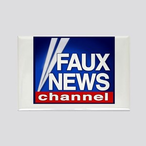 FAUX NEWS Rectangle Magnet