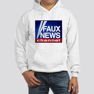 FAUX NEWS Hooded Sweatshirt
