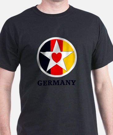 Cute Texas loves germany T-Shirt