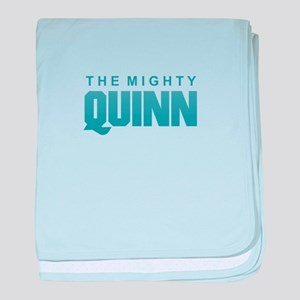 The Mighty Quinn baby blanket