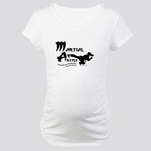 Martial Artist Maternity T-Shirt