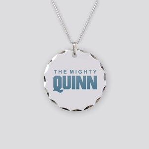 The Mighty Quinn Necklace Circle Charm