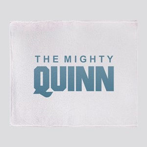 The Mighty Quinn Throw Blanket
