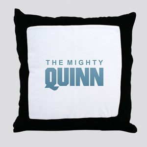 The Mighty Quinn Throw Pillow