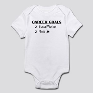 Social Worker Career Goals Infant Bodysuit
