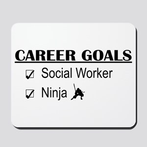 Social Worker Career Goals Mousepad