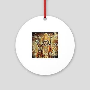 Ram 3 Merchandise Round Ornament