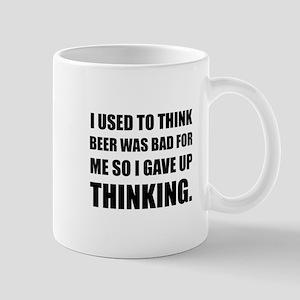 Beer Bad Thinking Mugs