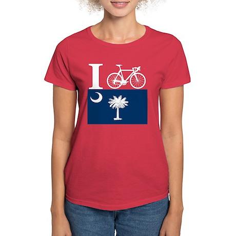 I BIKE South Carolina Women's Dark T-Shirt