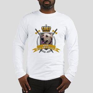 Custom Dog King of the Castle Long Sleeve T-Shirt