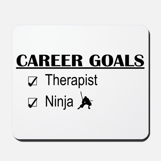 Therapist Career Goals Mousepad