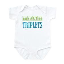 Team Triplets Infant Bodysuit