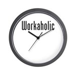 Workaholic Wall Clock