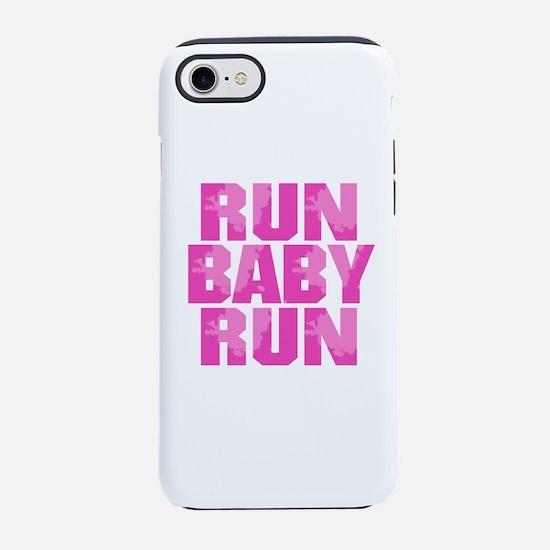Run Baby Run - Pink iPhone 8/7 Tough Case
