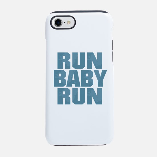 Run Baby Run - Blue iPhone 8/7 Tough Case