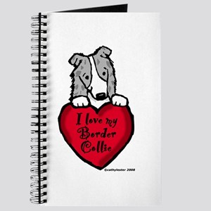 Border Collie (blue merle) Love Journal