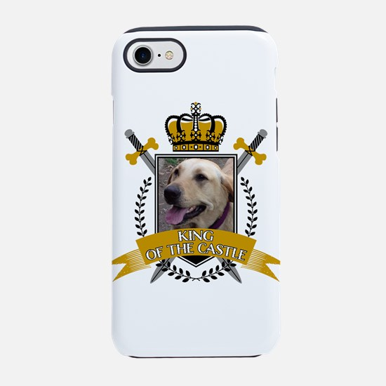 Custom Dog King of the Castle iPhone 8/7 Tough Cas